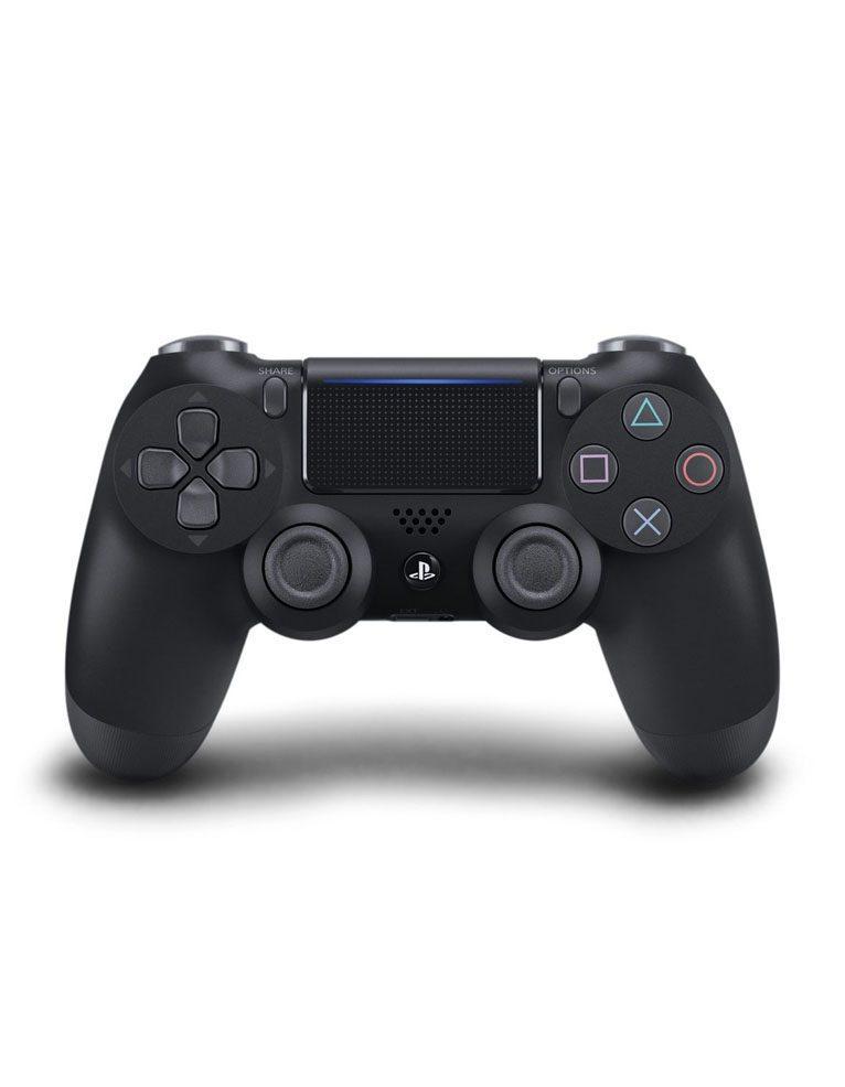 Pad Kontroler Sony PS4 DualShock 4 v2 Jet Black Czarny + Dodatki do Gry Fortnite Neo Versa Bundle