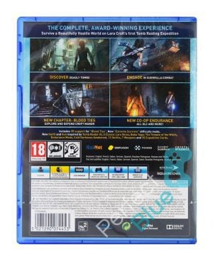 Gra PS4 Rise of the Tomb Raider