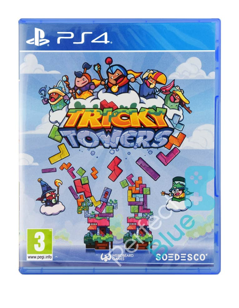 Gra PS4 Tricky Towers