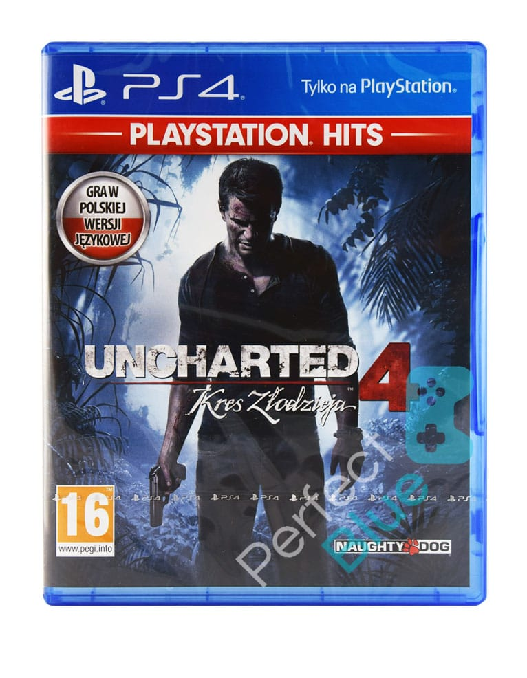 Gra PS4 Uncharted 4 Kres Złodzieja