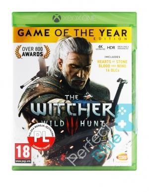 Gra na Xbox One Wiedźmin III Dziki Gon GOTY