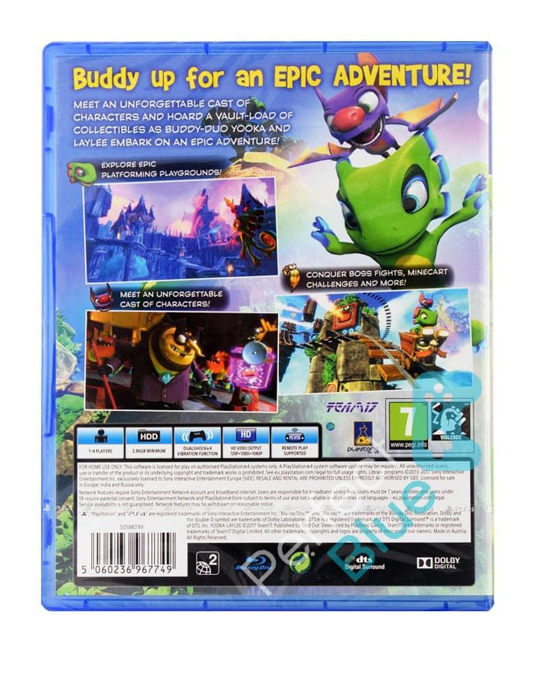 Gra PS4 Yooka-Laylee
