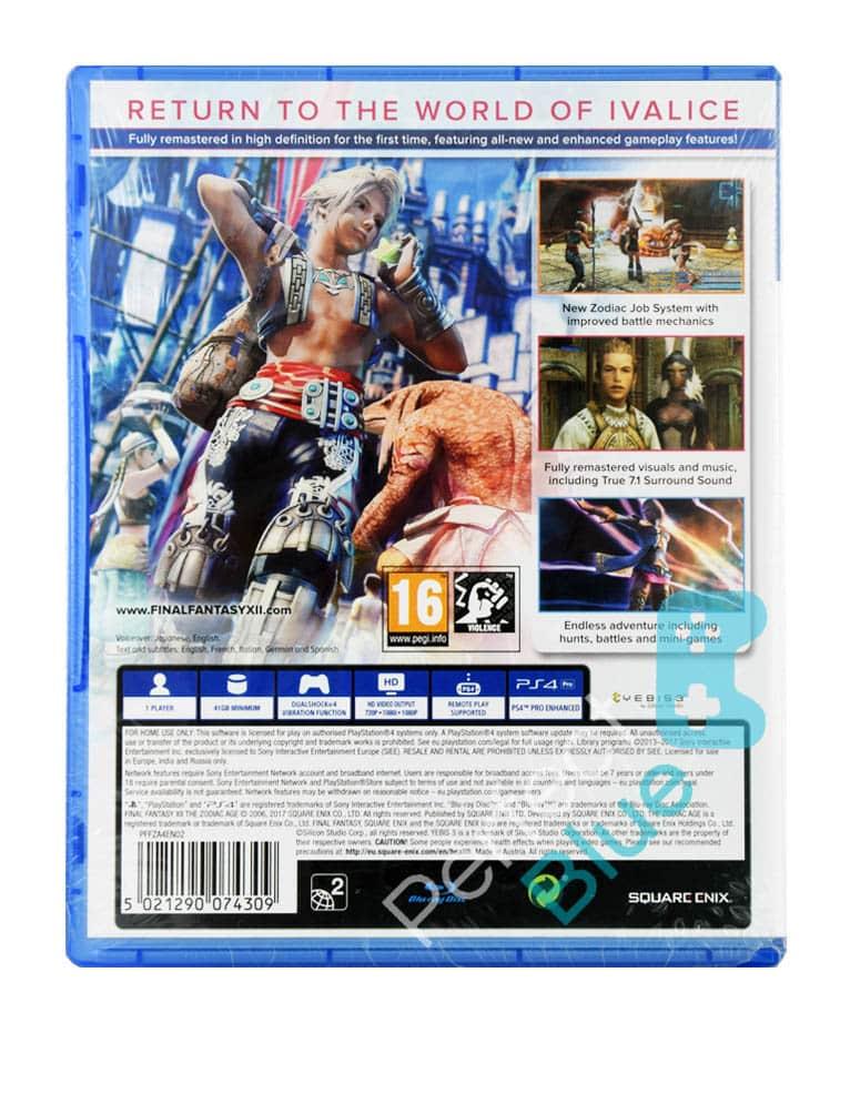 Gra PS4 Final Fantasy XII The Zodiac Age