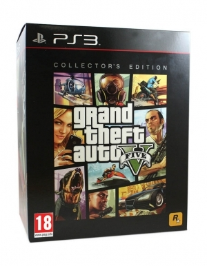 gta v grand theft auto 5 gra ps3 edycja kolekcjonerska collectors edition