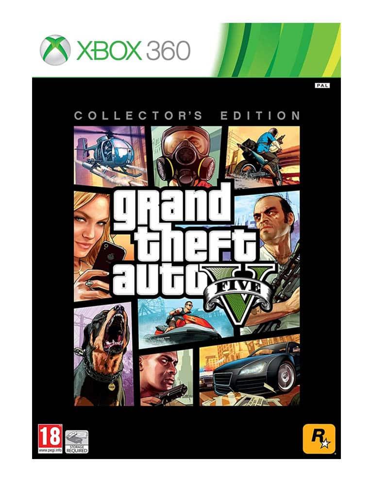 gta v grand theft auto 5 gra xbox 360 edycja kolekcjonerska collectors edition