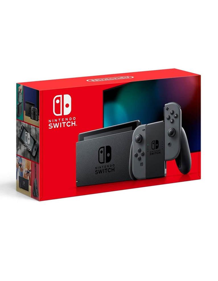 Konsola Nintendo Switch Szara / Grey - Nowy Model 2019