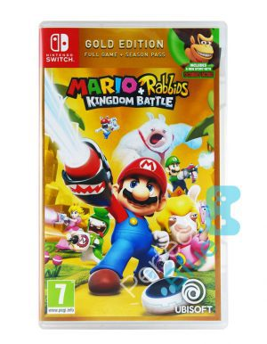 Gra Nintendo Switch Mario + Rabbids Kingdom Battle Gold Edition