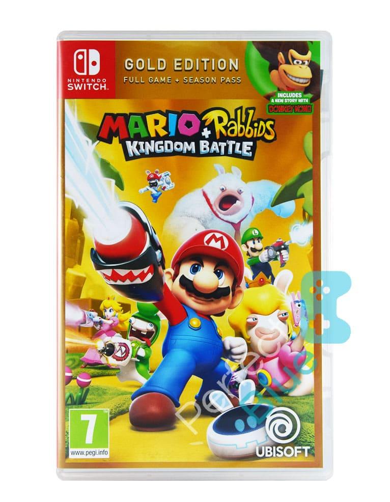 Gra Nintendo Switch Mario + Rabbids Kingdom Battle Gold Edition