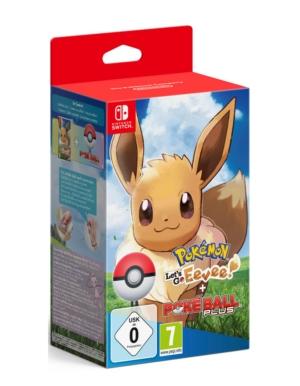 Gra Nintendo Switch Pokemon Let's Go, Eevee! Edycja Limitowana z Pokeball Plus