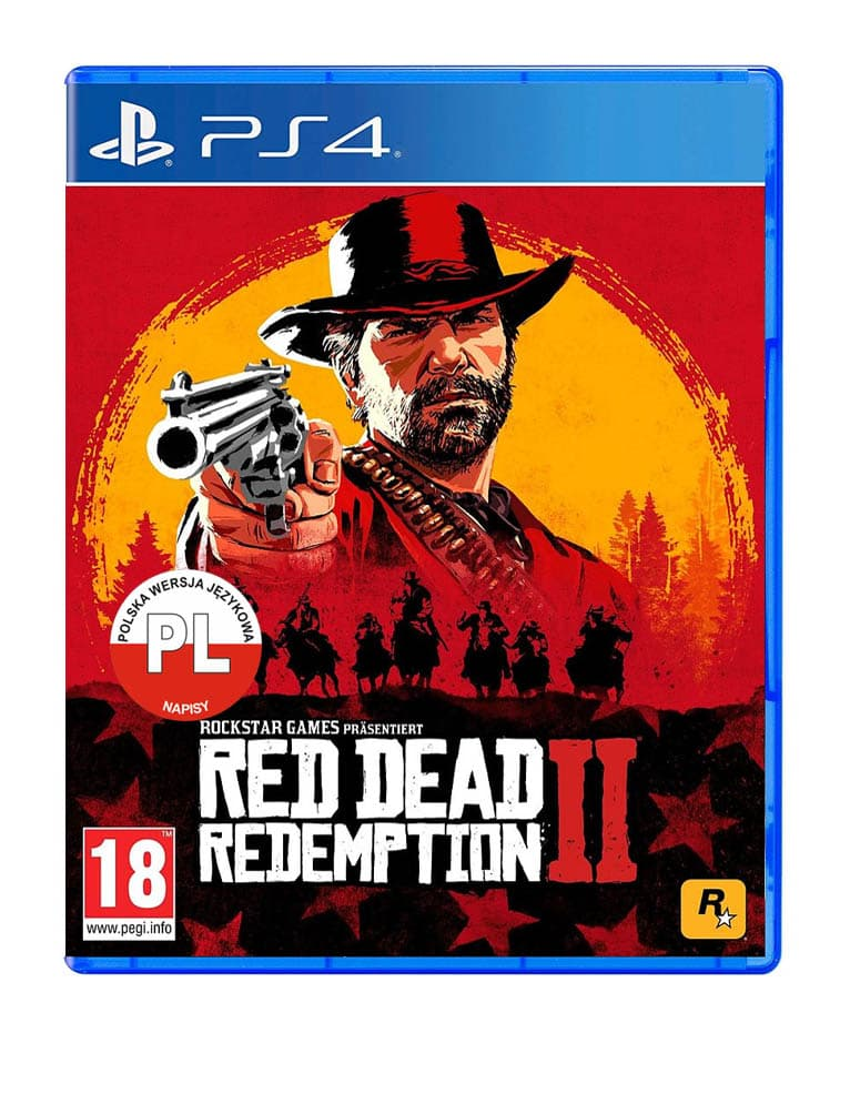 red dead redemption 2 gra ps4 niemiecka
