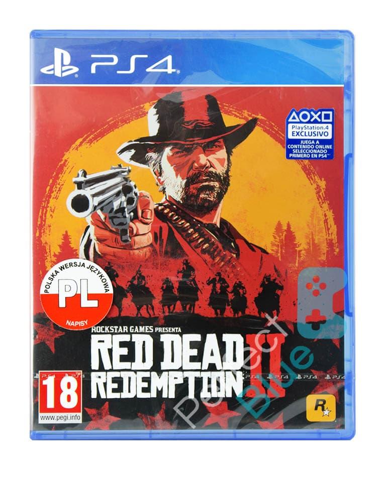 Gra PS4 Red Dead Redemption 2 / Edycja Standardowa