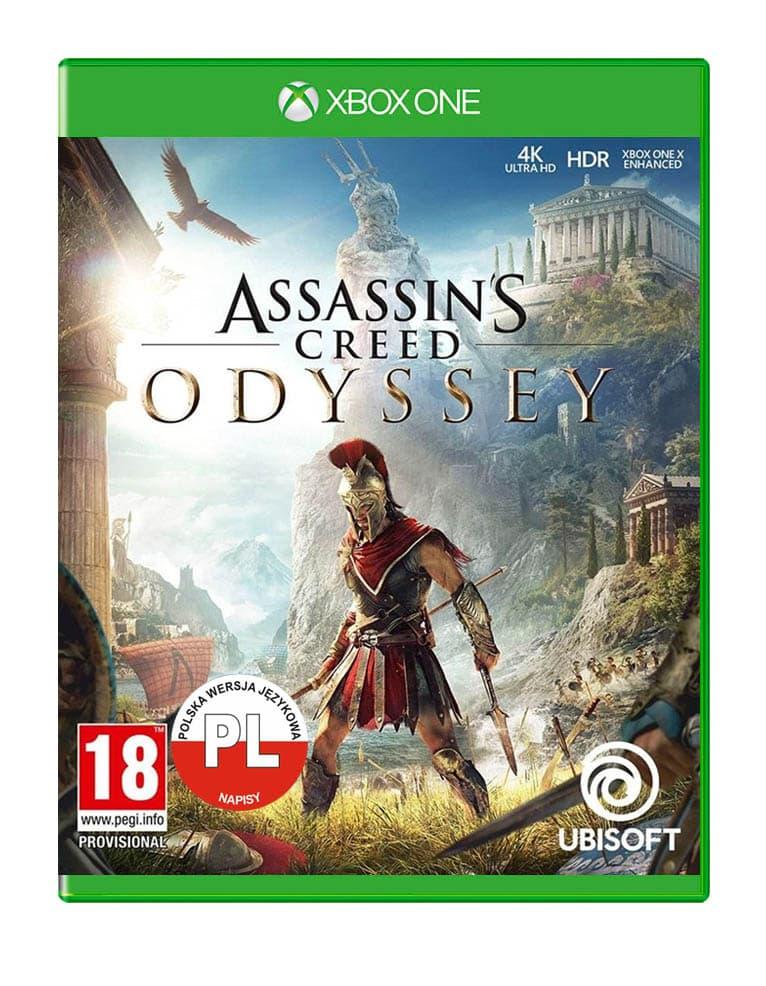 Assassins Creed Odyssey Angielska Gra Xbox One Naklejka Pl