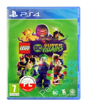 Gra PS4 LEGO DC Super-Villains / Super Złoczyńcy / Dubbing PL