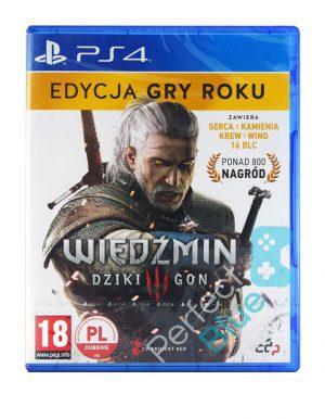 Gra na PS4 Wiedźmin III Dziki Gon GOTY Edycja Gry Roku PL