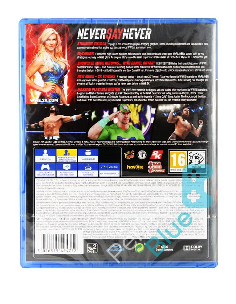 Gra PS4 WWE 2K19 / W2K19 + DLC