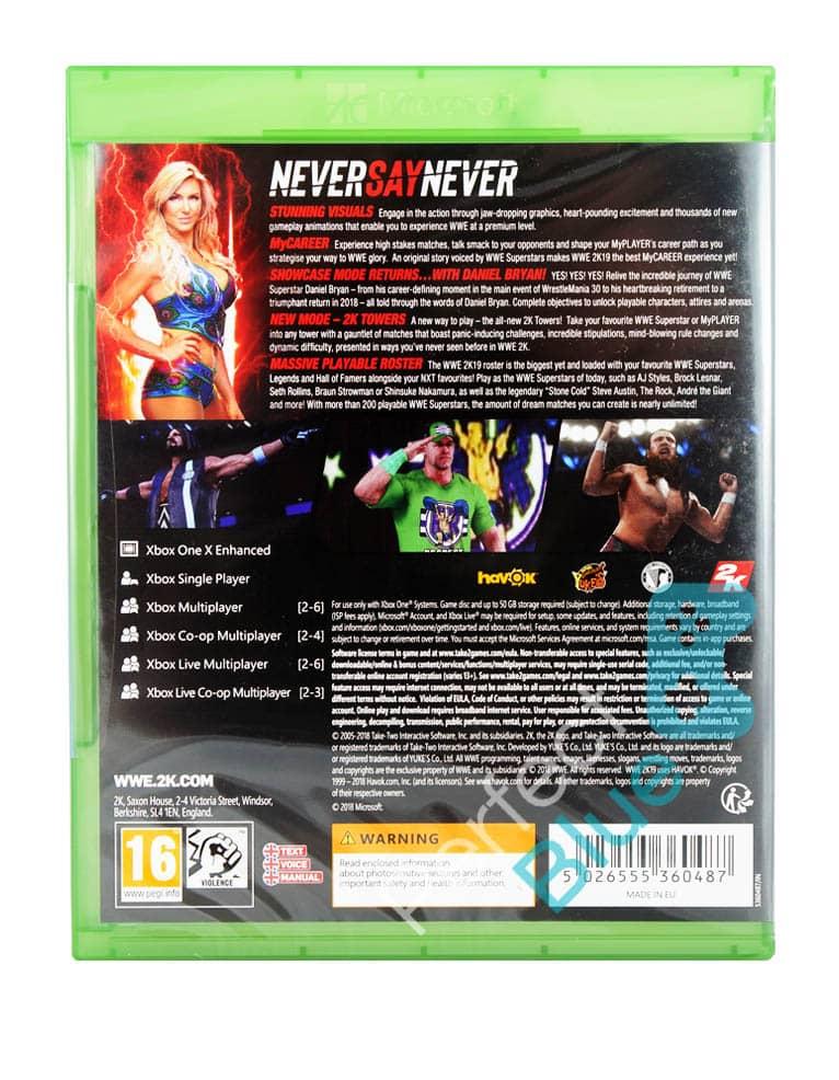 Gra Xbox One WWE 2K19 / W2K19