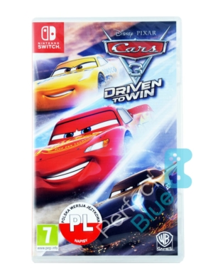 Gra Nintendo Switch Auta 3 / Autka / Cars 3: Driven to Win PL