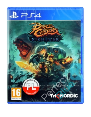 Gra PS4 Battle Chasers Nightwar PL