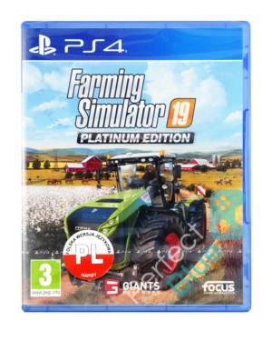 Gra PS4 Symulator Farmy / Farming Simulator 19 Platinum Edition