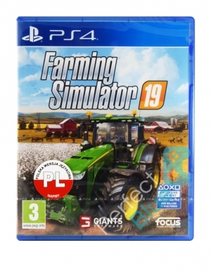 Farming Simulator 19 Gra Ps4