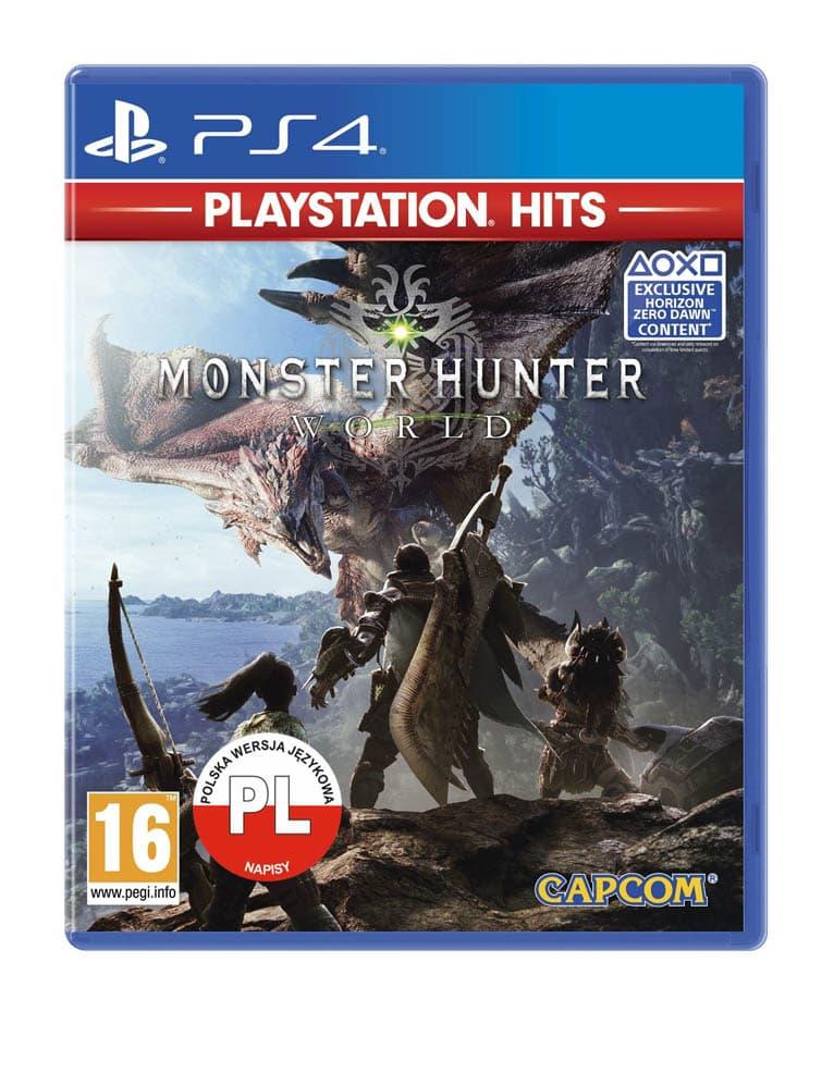 monster hunter world playstation hits gra ps4 pl