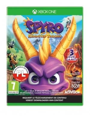 Spyro Trylogia Gra Xbox One Pl