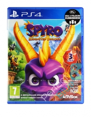Gra PS4 Spyro Reignited Trilogy PL