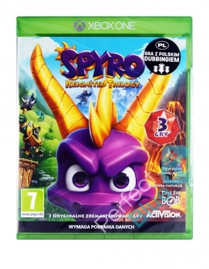 Gra Xbox One Spyro Reignited Trilogy PL