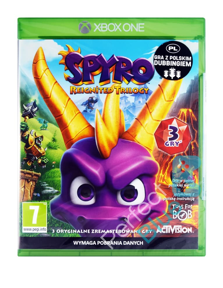Gra Xbox One Spyro Reignited Trilogy PL