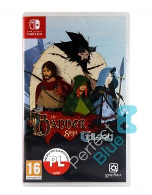the banner saga trilogy gra nintendo switch przod logo