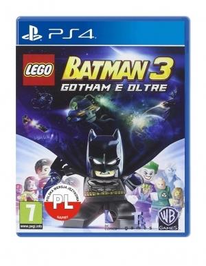 Lego Batman Poza Gotham Gra Ps4