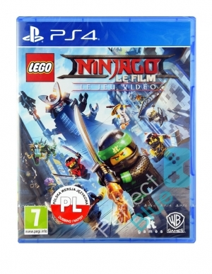 Lego Ninjago Videogame Francuska Gra Ps4 Przod Logo