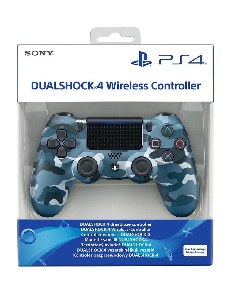 Pad Kontroler Sony PS4 DualShock 4 v2 Blue Camouflage / Niebieski Moro