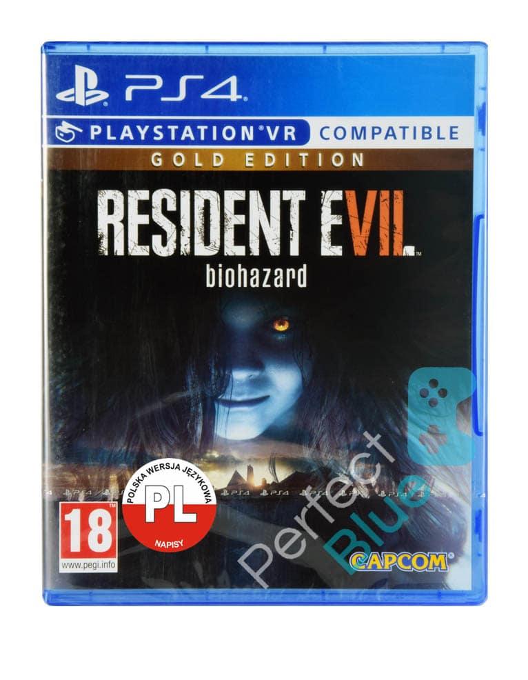 Resident Evil 7 Vii Biohazard Gra Ps4 Przod Logo