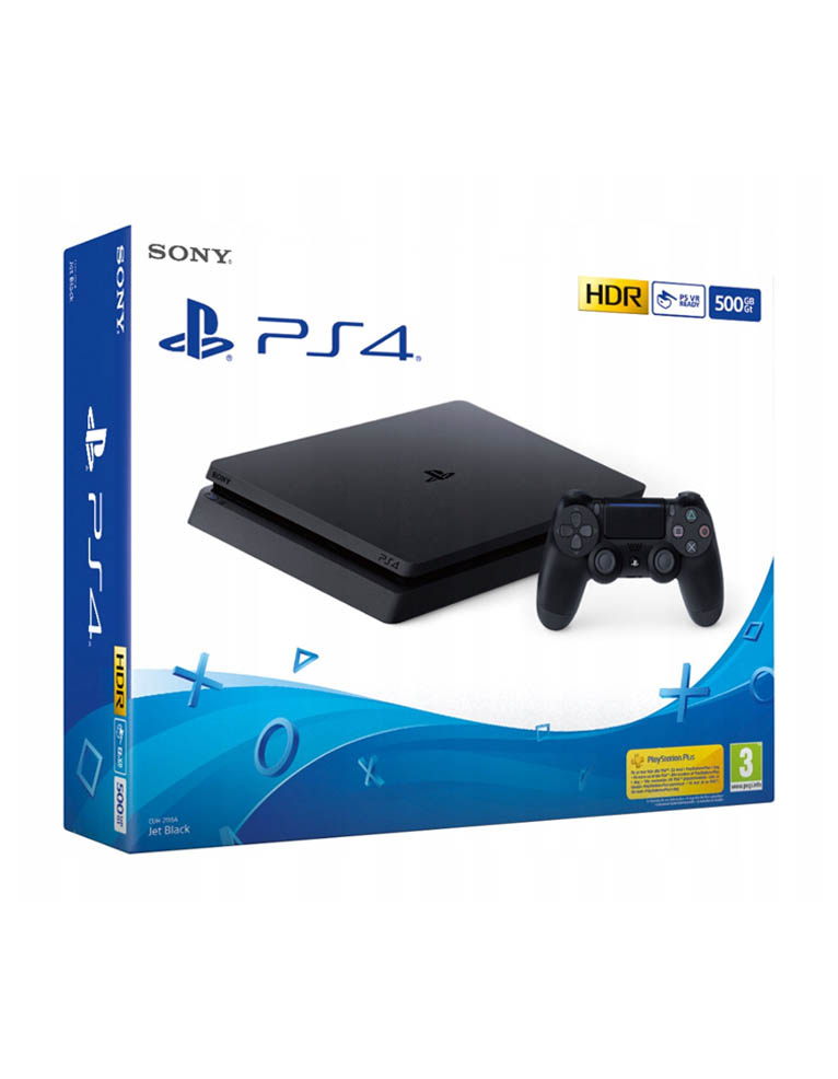 Konsola Sony PlayStation 4 PS4 Silm 500gb / Najnowszy Model! 2216A