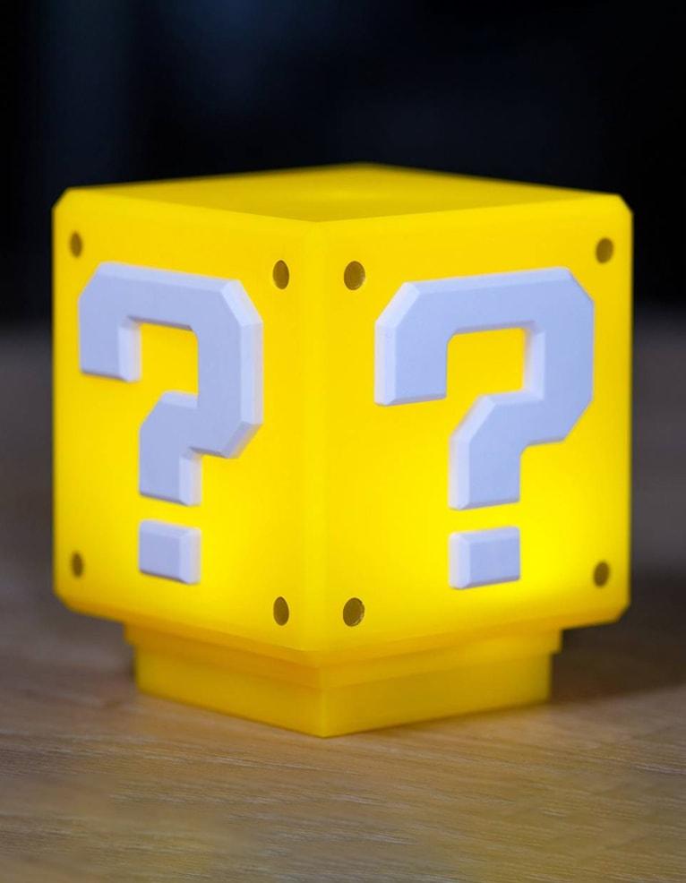 Gadżet Lampka Super Mario Question Block 3D Light Znak zapytania