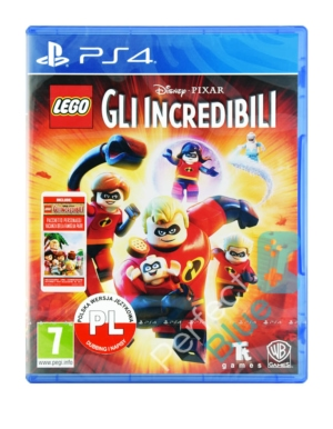 Gra PS4 Lego Iniemamocni / The Incredibles / PL