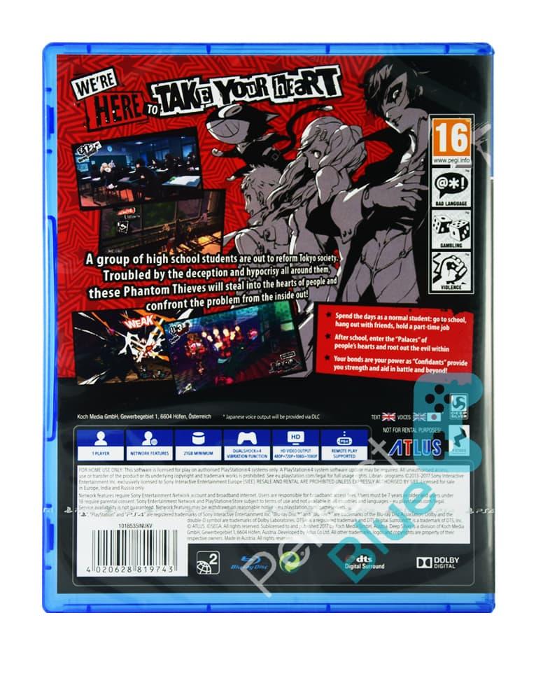 Gra PS4 Persona 5