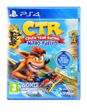 Gra PS4 CTR Crash Team Racing Nitro-Fueled