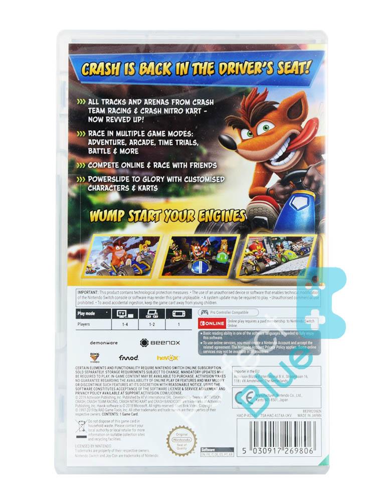 Gra Nintendo Switch Crash Team Racing Nitro-Fueled / CTR
