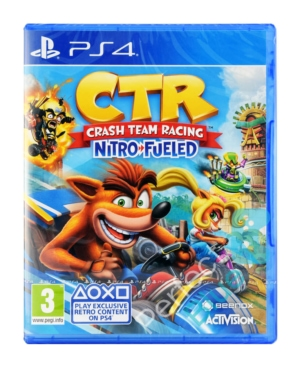 Gra PS4 Crash Team Racing Nitro-Fueled + DLC!