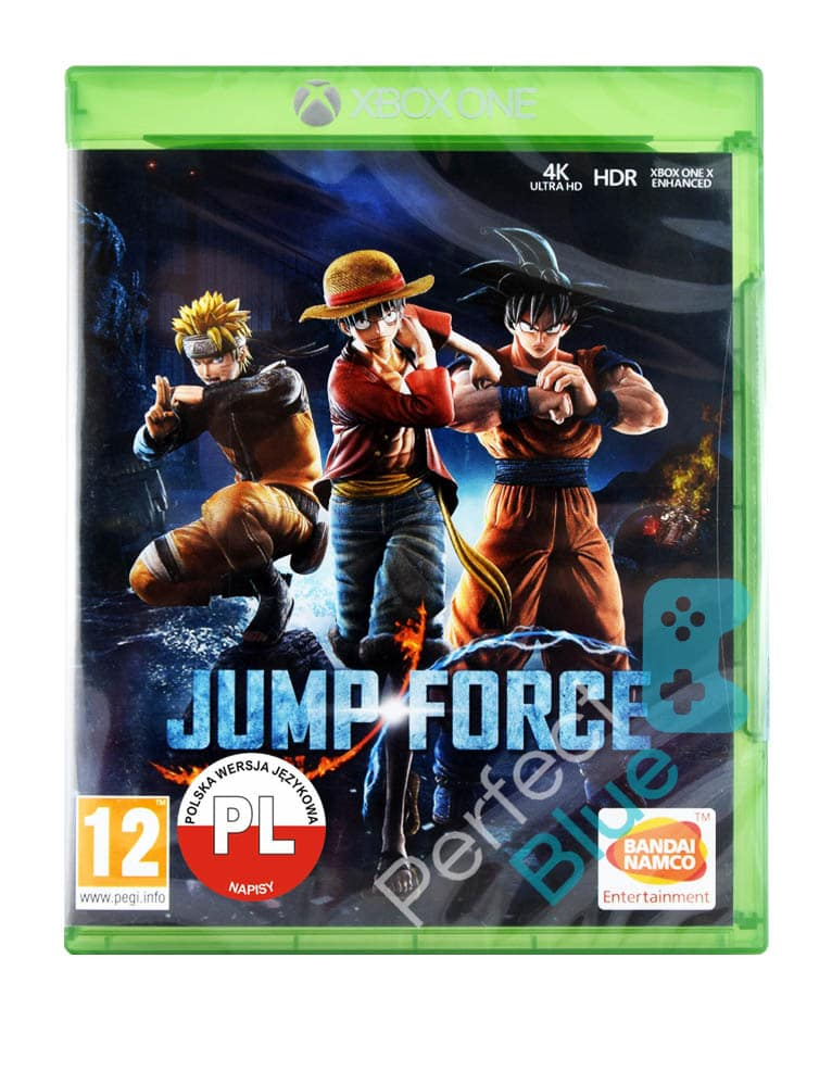Jump Force Xbox One Przod Logo Pl