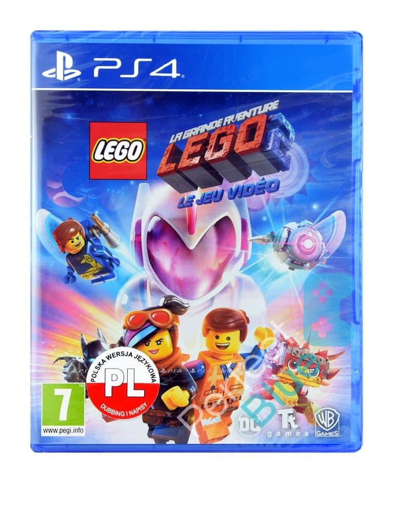 lego the movie 2 videogame francuska 647577 gra ps4 przod logo
