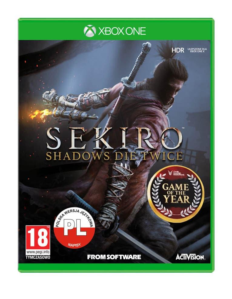 Sekiro Shadows Die Twice Gra Xbox One