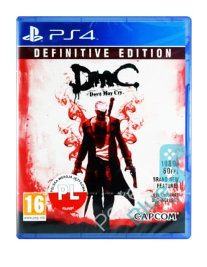 Gra PS4 DmC Devil May Cry Definitive Edition PL