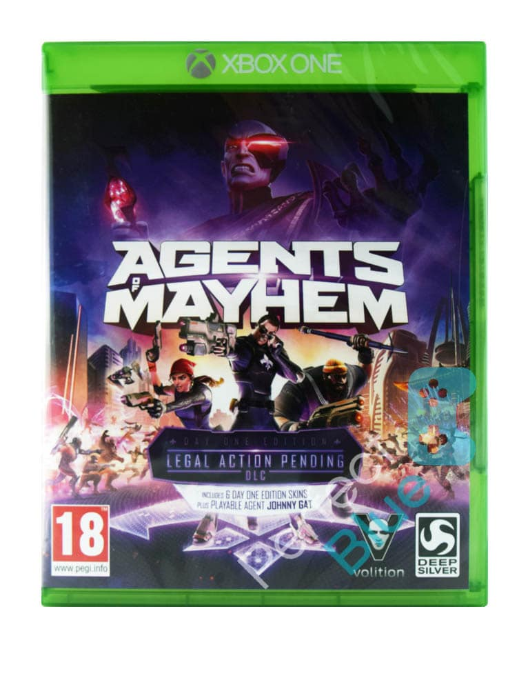 Gra Xbox One Agents of Mayhem Day One Edition