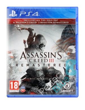 Gra PS4 Assassins Creed III Remastered + Assassins Creed Liberation Remastered