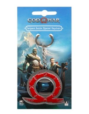 Gadżet Metalowy Brelok / Otwieracz God Of War