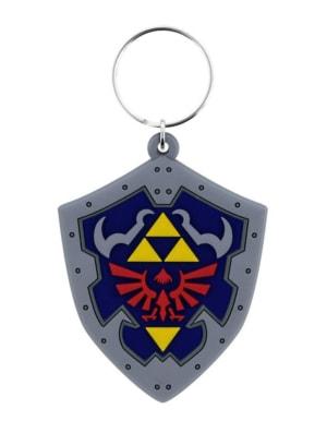 Gadżet Gumowy Brelok Zelda - Hylian Shield - Tarcza z Herbem