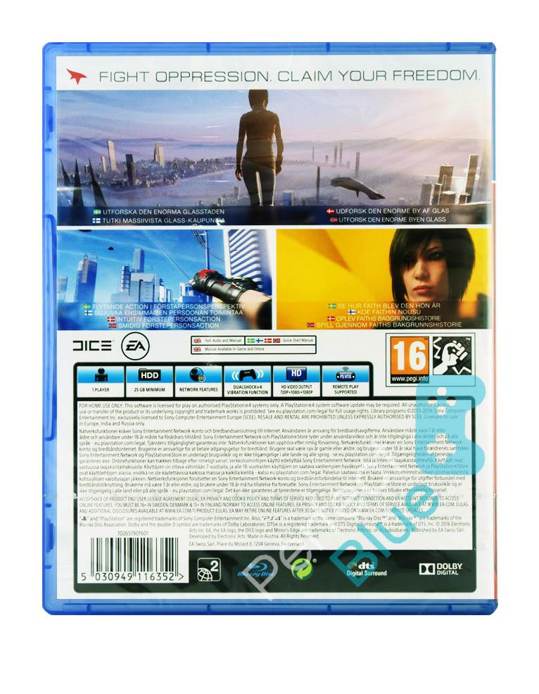 Gra PS4 Mirror's Edge Catalyst PL